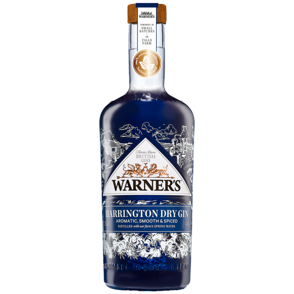 Warners Harrington Dry Gin 5cl