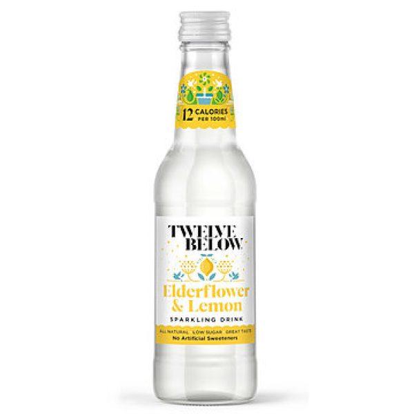 Twelve Below Elderflower and Lemon 330ml