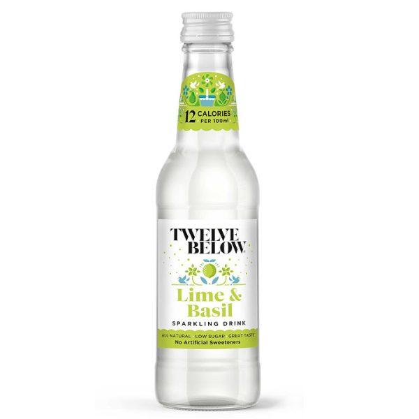 Twelve Below Lime and Basil 330ml