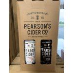 Pearsons Cider 4 Bottle Gift Box