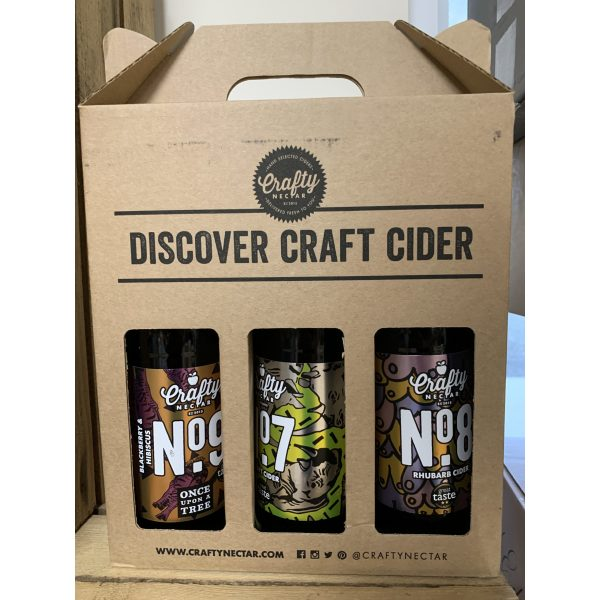 Crafty Nectar Cider 3 Bottle Gift Box