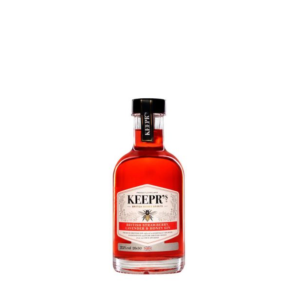 Keepr's British Strawberry Lavender and Honey Gin