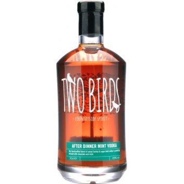 Two Birds After Dinner Mint and English Vodka 70cl