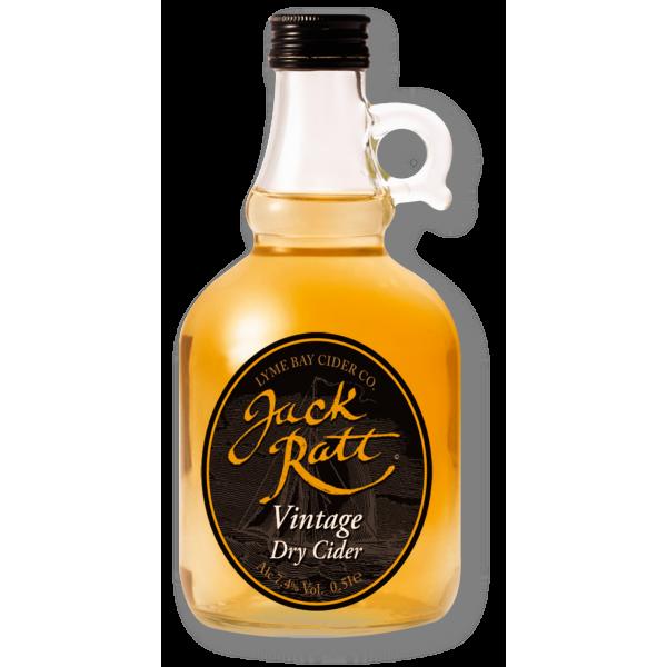 Jack Ratt Vintage Dry Cider Flagon 500ml