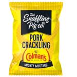 Snaffling Pig Mighty Colmans Mustard Pork Crackling 45g
