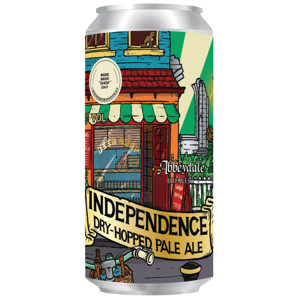 Abbeydale Independence Dry Hopped Pale Ale 440ml