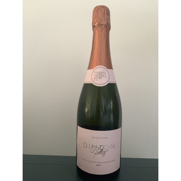 Dinton Folly English Pink Sparkling Wine 2021 New!