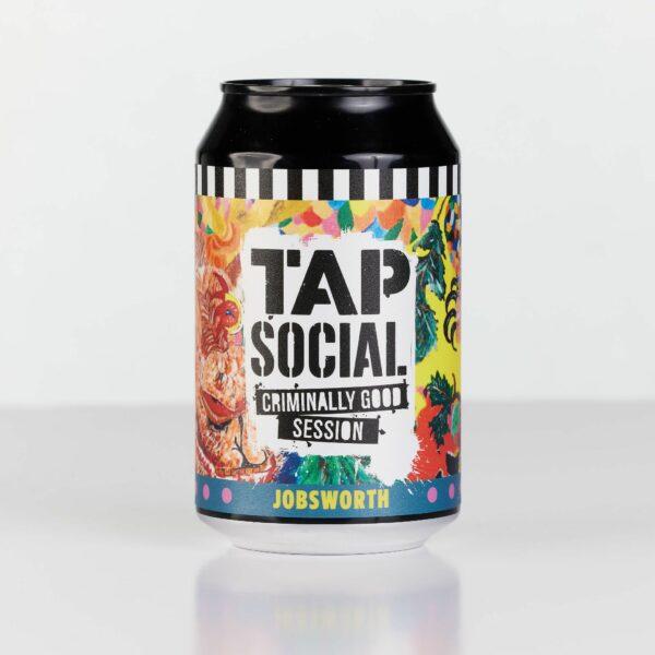 Tap Social Jobsworth Session Pale Ale 330ml