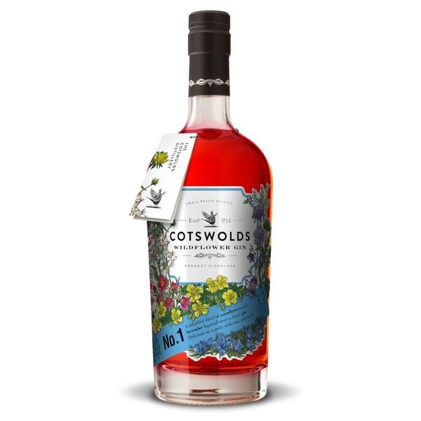 Cotswolds No 1 Wildflower Gin 70cl