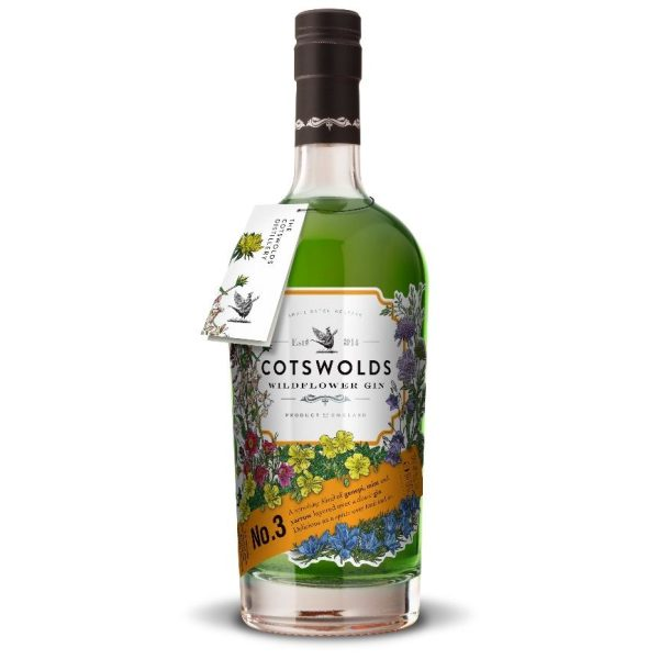 Cotswolds No 3 Wildflower Gin 70cl