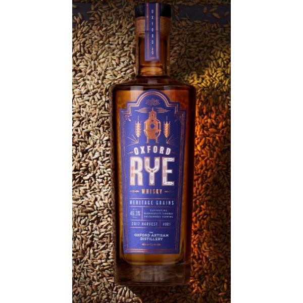 Oxford Rye Whisky Batch #1 70cl