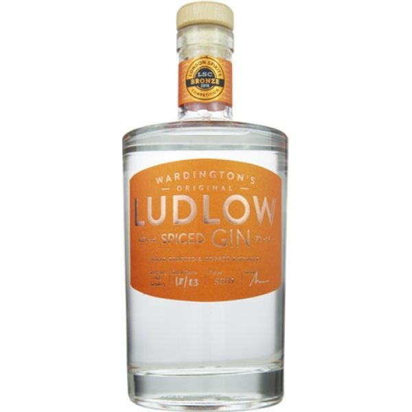 Ludlow Seville Orange and Cassia Bark Marmalade Gin 70cl
