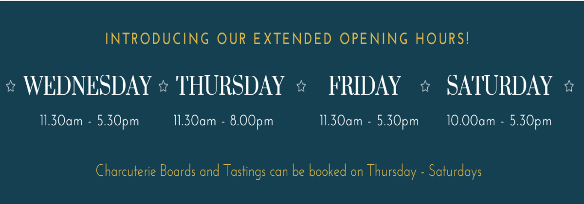 new shop opening hours banner