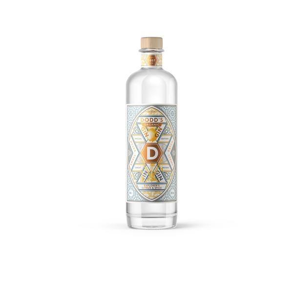 Dodd's Explorers Citrus & Spice Organic Gin 50cl